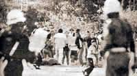 Durante nueve meses se presentaron continuos enfrentamientos con la Fuerza Pública. Foto Deslinde
