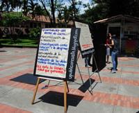 Los estudiantes se preparan para la movilización del 7 de abril