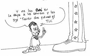 Caricatura tomada de http://santanderdequilichao-virtual.blogspot.com/