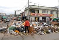 Las basuras se han convertido en un problema sanitario
