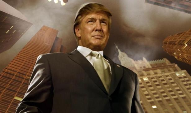 De la carátula del libro TrumpNation: The Art of Being the Donald, escrito por Timothy OBrien