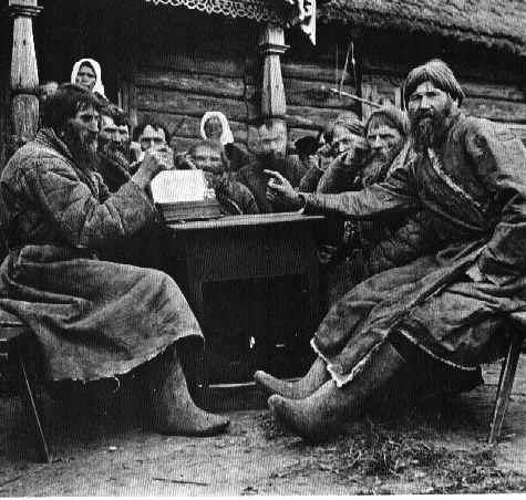 campesinos rusos