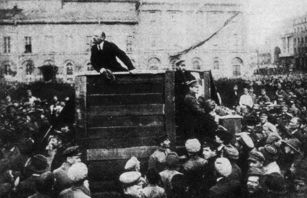 Revolución Rusa - Lenin