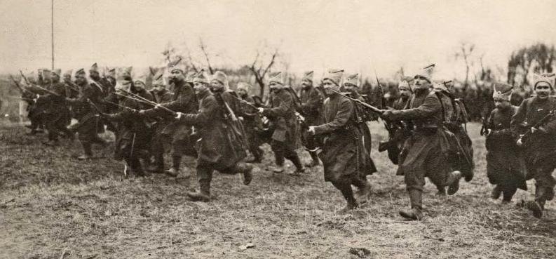 Tras la Revolución los Bolcheviques tuvieron que enfrentar una dura guerra contra enemigos internos y externos