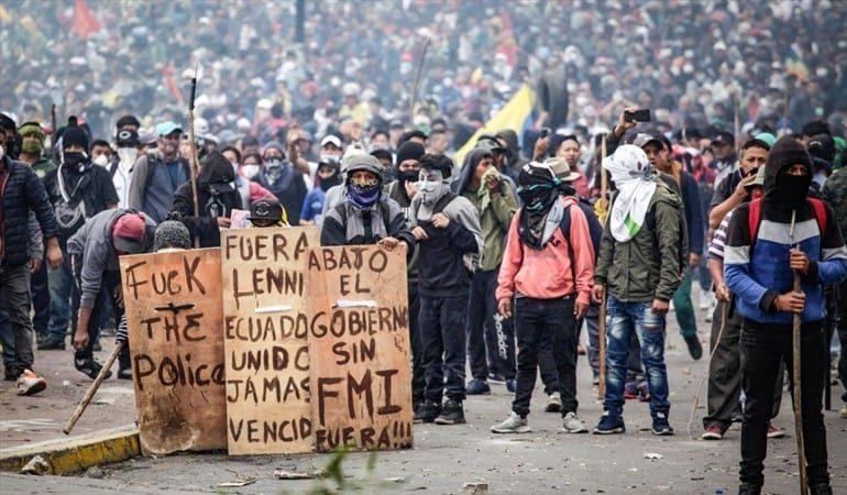 Respaldemos y aprendamos de la valerosa lucha del pueblo ecuatoriano