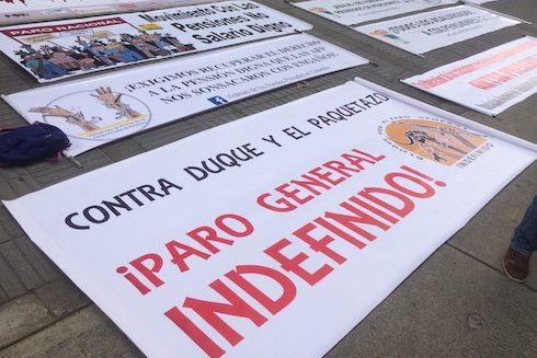 Llamamiento al pueblo colombiano a movilizarse para defender sus derechos