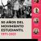 Ciclo de conferencias: 50 años del movimiento estudiantil 1971-2021